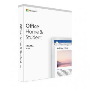 Image for product 'Microsoft 79G-05033 Office Home and Student 2019 UK [1yr, Win/MAC, Word/ Excel/ Powerpoint/ OneNote]'
