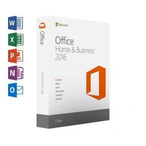 Image for product 'Microsoft T5D-02801 Office Home and Business 2016 IT [1-user, Word, Excel, PowerPoint, Outlook, One]'
