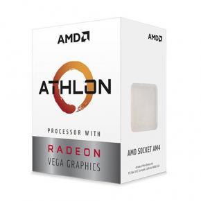 Image for product 'AMD YD200GC6FBBOX ATHLON 200GE [AMD AM4, 3.2Ghz Dual HT, DDR4 2667Mhz, Radeon VEGA3, 35W, BOX]'