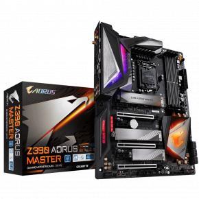 Gigabyte Z390 AORUS MASTER [ATX, LGA1151 V2, Intel Z390, DDR4 4133Mhz, M.2 x3, USB3.1 x3, Quad-GPU]