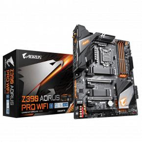 Image for product 'Gigabyte Z390 AORUS PRO WIFI [ATX LGA1151 V2, Intel Z390, 4x DIMM DDR4-4133, BT, USB3.1 Gen2, WiFi]'