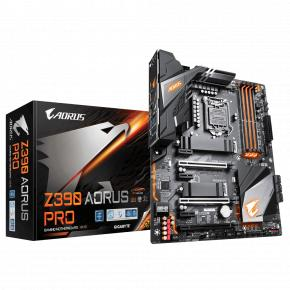 Gigabyte Z390 AORUS PRO [ATX LGA1151 V2 Z390DUAL 3.0 Realtek ALC1220in CPU Intel i219V]