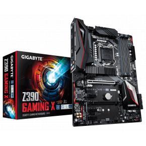 Image for product 'Gigabyte Z390 Gaming X [ATX, LGA1151-V2, Intel Z390, DDR4-2666 MHz, M.2, USB3.1, TPM, Quad-GPU]'
