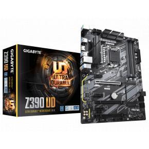 Image for product 'Gigabyte Z390 UD V2 [ATX, LGA1151-V2, Intel Z390, 4x DDR4-2666 MHz, M.2, USB3.1, TPM, Quad-GPU]'