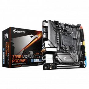Gigabyte Z390 I AORUS PRO WIFI [mini-ITX, LGA1151-V2,Intel Z390, 2x DDR4-667Mhz, M.2, USB3.1, WiFi]