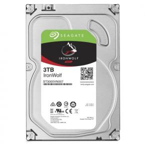 "Image for product 'Seagate ST1000VN004 Ironwolf NAS HDD [10TB, 3.5"", SATA3, 7200RPM, 256MB, 210MB/s]'"