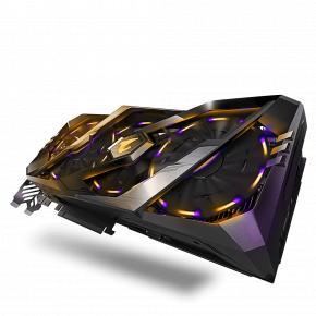 Image for product 'Gigabyte GV-N2080AORUS-8GC Nvidia GeForce RTX 2080, 8GB, GDDR6, 256-bit, 448GB/s, Active, 650W]'