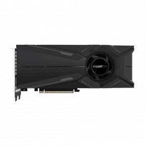 Image for product 'Gigabyte GV-N2080TURBO OC-8GC Nvidia GeForce RTX 2080 TURBO OC [PCIe3.0, 8GB, GDDR6, 256bit, 650W]'