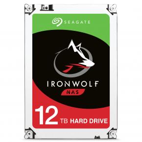 "Image for product 'Seagate ST12000VN0007 IronWolf Internal HDD [3.5"", 12TB, 7200 RPM, Serial ATA III, 256 MB, 210 MB/s]'"