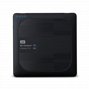 "Image for product 'Western Digital WDBSMT0030BBK-EESN My Passport Wireless Pro External HDD [3TB 2.5"", mUSB 3.1, Black]'"