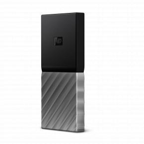 Image for product 'Western Digital WDBK3E2560PSL-WESN My Passport External SSD [256 GB, USB 3.1 Gen2 Type-C, 515 MB/s]'