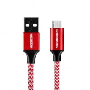 Image for product 'Modecom CAB-MC-SPARK-01 SPARK 01 USB TO MICRO USB CABLE [1m, Red]'
