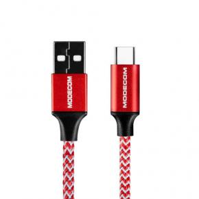 Image for product 'Modecom CAB-MC-SPARK-03 SPARK 03 USB TO USB-C CABLE [1m, Red]'