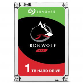 "Image for product 'Seagate ST1000VN002 IronWolf NAS HDD [1 TB, 3.5"", 5900 RPM, Serial ATA III, 64 MB, 180 MiB/s]'"
