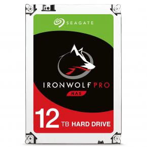 "Image for product 'Seagate ST12000NE0007 IronWolf Pro HDD [12 TB, 3.5"", SATA3 6 Gbps, 7200 RPM, 256MB, 250 MB/s]'"