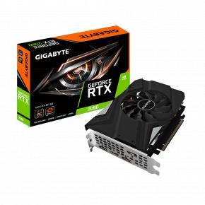 Image for product 'Gigabyte GV-N2060IXOC-6GD Geforce RTX 2060 MINI ITX OC 6G [6 GB, GDDR6, 192 bit, 336 GB/s, 500W]'