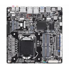 Image for product 'Gigabyte GA-IMB310TN [Mini-ITX, LGA1151, H310, 2x DDR4-2133 SO-DIMM, USB3.1, M.2, GBLAN, TPM2.0]'