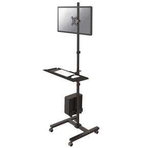 Image for product 'Newstar FPMA-MOBILE1700 Monitor Wall-Mount [1x 10 - 32 inch, 8kg, 75x75/ 100x100mm, 94-175cm, Black]'