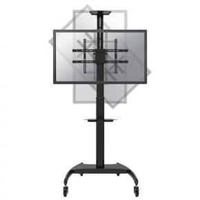 "Image for product 'Newstar PLASMA-M1900E Flat-screen floor stand [1x 37 - 70"", 50 kg , 130 - 162cm, 200x200/ 600x400mm]'"