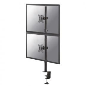 "Image for product 'Newstar FPMA-D550DVBLACK Flat-screen Desk-mount [2x 10 - 32"", 16kg, 88cm, 75x75/ 100x100 mm, Black]'"