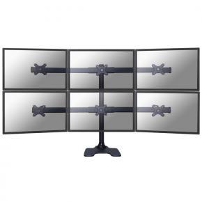 "Image for product 'Newstar FPMA-D700DD6 Tilt/Turn/Rotate Desk Mount [6x 10 - 27"", 48kg, 32 - 88 cm, 75x75/ 100x100mm]'"