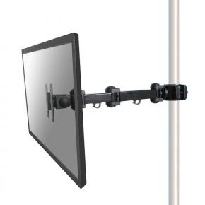 "Image for product 'Newstar FPMA-WP300BLACK Flat-screen pole mount [1x 10 - 30"", 10kg, PTR, 75x75/ 100x100 mm]'"