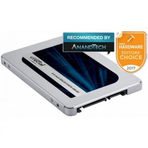 """Image for product 'Crucial CT250MX500SSD1 MX500 SSD [250GB, 2.5"""", SATA3 6Gbps]'"""