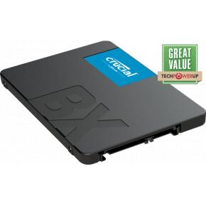 """Image for product 'Crucial CT480BX500SSD1 BX500 SSD [480GB, 2.5"""", 7mm SATA3 6Gbps, 540/ 500 MB/s]'"""