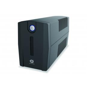 Image for product 'Conceptronic ZEUS01ES, ZEUS01 UPS [Schuko, 650 VA, 360 W, 220 - 240 V, AVR, Overload protection]'