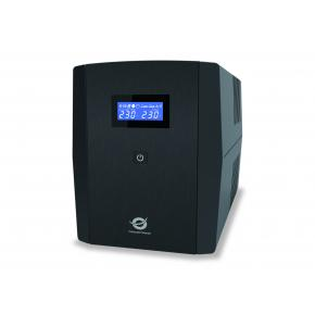 Image for product 'Conceptronic ZEUS03EM ZEUS03 UPS [Schuko, RJ-45, 1200 VA, 720 W, 220 240 V, AVR, Overload protect]'
