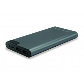 Image for product 'Conceptronic AVIL02G AVIL 02G Grey Power Bank [10000mAh, Polymer, LCD display]'