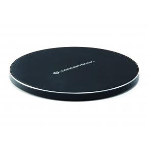 Image for product 'Conceptronic GORGON01B, GORGON 01B Wireless chargier [USB, 10W, 2000 mA, FOD, LED, Black]'
