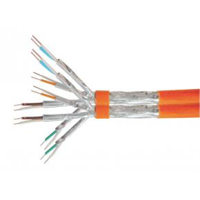 Image for product 'Equip 187312 Duplex Installation Cable [Cat.7 S/FTP, LSZH, Solid Copper, 1000m, Orange]'