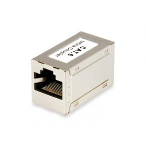 Image for product 'Equip 121179 RJ45 Inline Coupler [F/F, Cat.6, full shielded, Gold contact]'