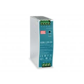 Image for product 'Levelone POW-2441 24V DC Industrial Power Supply [120W, 5A, 24V, DIN-Rail]'