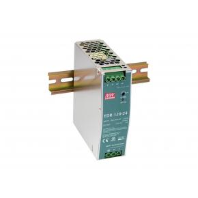 Image for product 'Levelone POW-4841 48V DC Industrial Power Supply [120W, DIN-Rail, PoE Ready, ShortCircuit, Overload]'