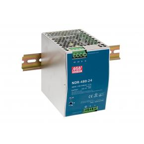 Image for product 'Levelone POW-4861 Industrial Power Supply [48VDC, 480W, DIN-Rail, PoE Ready, Short Circuit,Overload]'