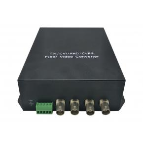 Image for product 'LevelOne AVF-1401 4-Channel BNC over Fiber Optic Extender Kit [470-1610,1310nm, FC, 6.5 MHz, 1310nm]'