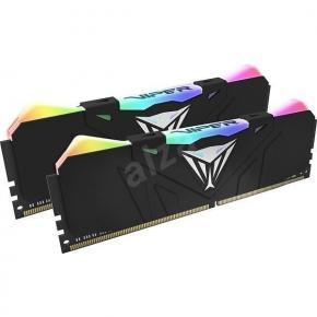 Image for product 'Patriot PVR416G300C5K Viper RGB DIMM Kit [16GB, DDR4, 3000MHz CL15, BLACK, RGB LED]'