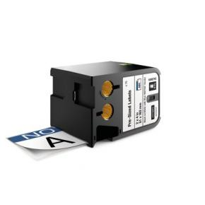 """Image for product 'Dymo 1868715 Pre-Sized XTL Safety Labels [2"""" x 4"""", Black on white + blue header, 70 pc(s) Black]'"""