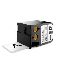 "Image for product 'Dymo 1868812 XTL™ Heat-Shrink Tube [2"" (54mm), Thermal Transfer, Black on white]'"