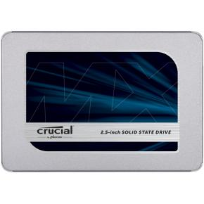 "Image for product 'Crucial CT1000MX500SSD1 MX500 Internal SSD [1TB, 2.5"", SATA3 6Gbps, w/ 9.5mm adapter]'"
