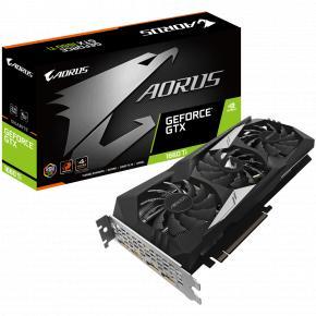 Image for product 'Gigabyte GV-N166TAORUS-6GD AORUS Nvidia GeForce GTX 1660 Ti 6G [PCIe3.0, 6 GB, GDDR6, 192 bit, 450W]'
