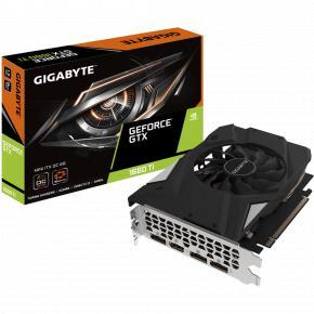 Image for product 'Gigabyte GV-N166TIXOC-6GD GeForce GTX 1660 Ti OC 6G [MINI ITX, 6GB, GDDR6, 192-bit, 288 GB/s, 450W]'
