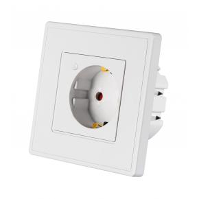 WOOX R4054 Smart inbouw stopcontact powered by TUYA [16A, 3680W, Wi-Fi, White]