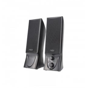 Image for product 'ADJ 760-00014ADJ Slender Speaker Set [2.0CH, 2x 2W, USB Powered, Zwart]'