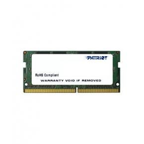 Image for product 'Patriot PSD44G240081S SO-DIMM SL [4GB, SO-DIMM DDR4, 2400MHz, CL17, 1.2V]'