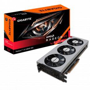 Image for product 'Gigabyte GV-RVEGA20-16GD-B Radeon VII [PCIe3.0 x16, 16GB, HBM2) 4096 bit, 1 TB/s, 1400Mhz, 2x 8-pin]'