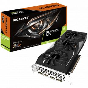 Image for product 'Gigabyte GV-N1660GAMING-6GD GeForce GTX 1660 GAMING 6G [PCIe3.0, 6GB, GDDR5, 192-bit, 192 GB/s,450W]'