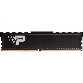 Image for product 'Patriot PSP48G266681H1 LONG-DIMM SL PREMIUM [8GB, DDR4 UDIMM, 2666MHz, CL19, 1.2V, HEAT SHIELD]'